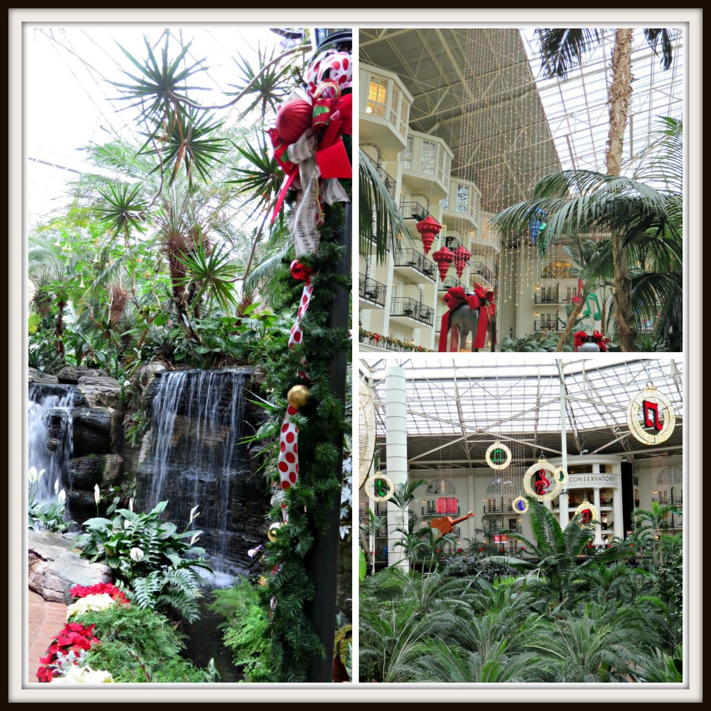 Opryland Hotel Collage #1