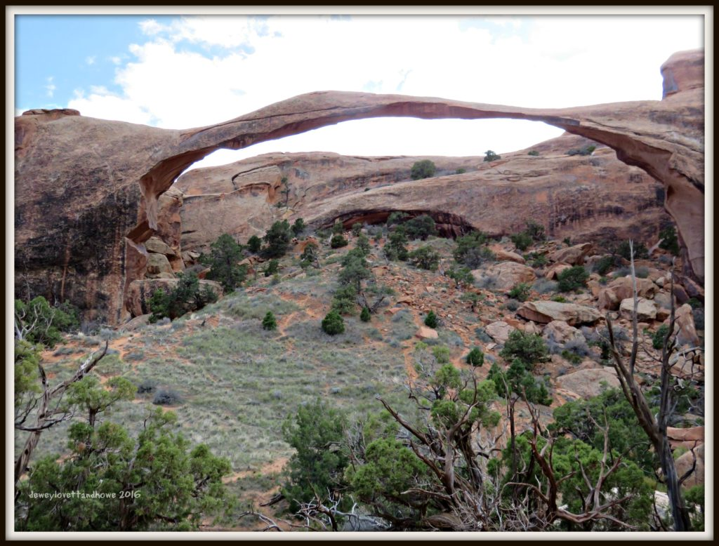 Longest - Landscape Arch 306' base to base